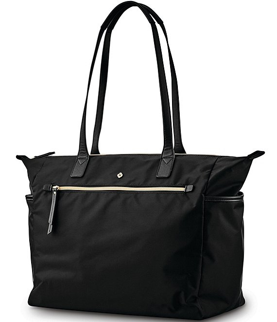 Color:Black - Image 1 - Mobile Solution Deluxe Carryall Tote Bag