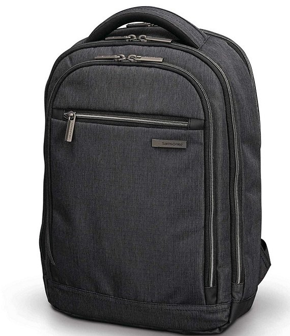 Color:Charcoal Heather - Image 1 - Modern Utility Backpack
