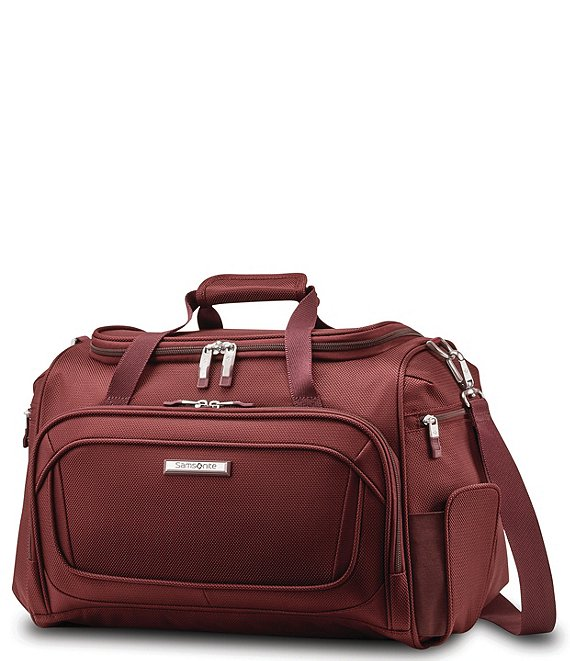 Color:Cabernet Red - Image 1 - Silhouette 16 Travel Tote