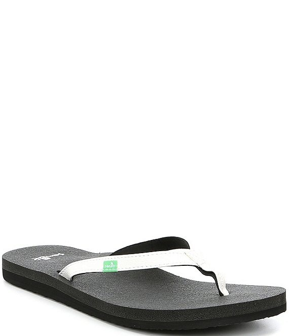Sanuk Women's Yoga Joy Thin Strap Flip Flops