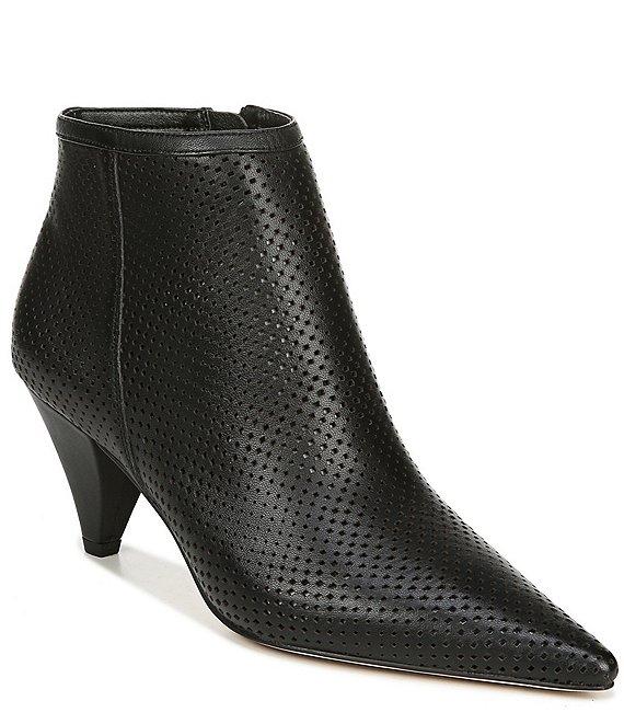 Sarto by Franco Sarto Bobbi Perforated Leather Booties