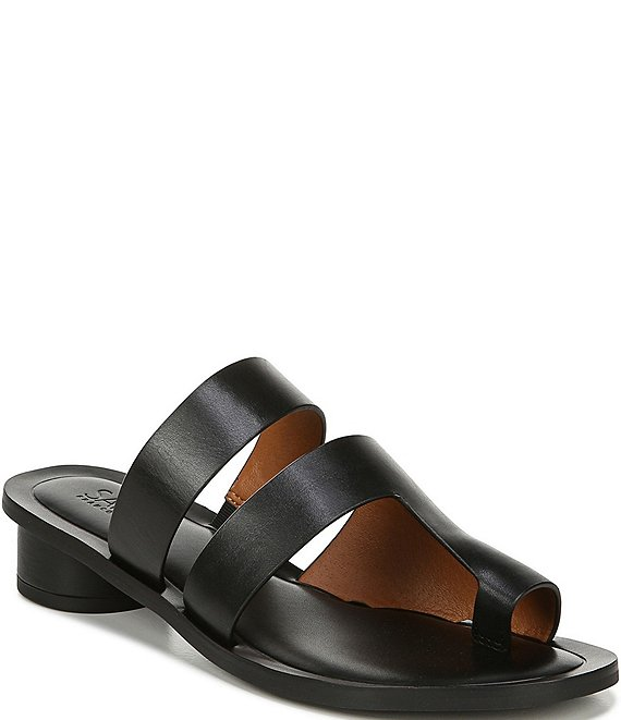b4fc50139501 Franco SartoSarto by Franco Sarto Trixie Leather Toe Ring Block Heel Sandals