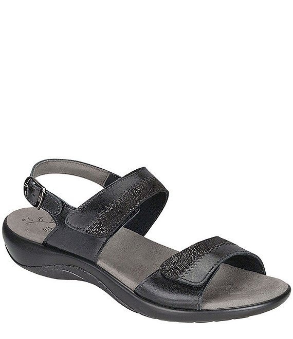 Color:Midnight - Image 1 - Nudu Leather Sandals