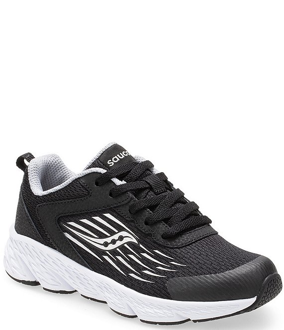 3c4ca70368 Saucony Boys' Wind Lace Up Running Shoe