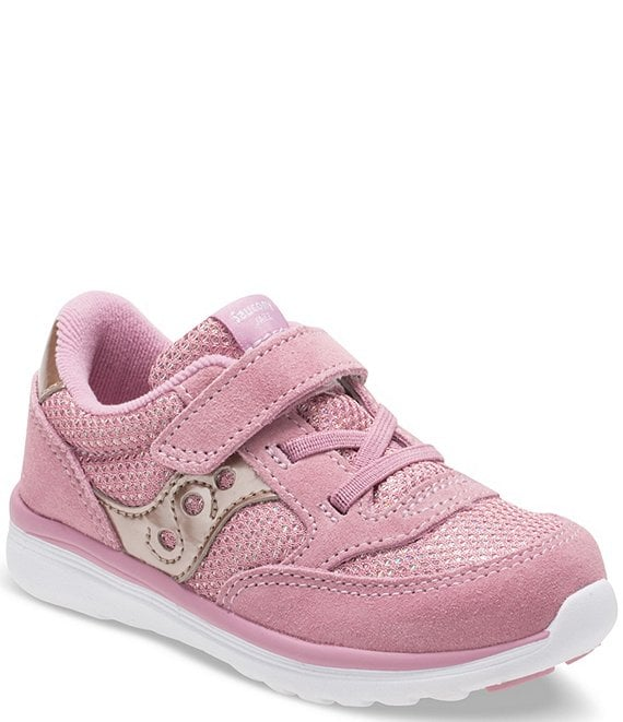 Color:Blush Metallic - Image 1 - Girls' Baby Originals Jazz Lite Sneaker (Infant)