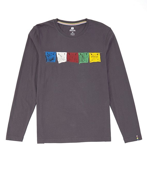 Color:Kharani Grey - Image 1 - Tarcho Long-Sleeve Tee