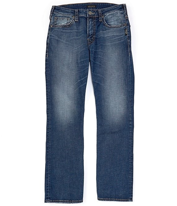Color:Indigo - Image 1 - Craig Relaxed Bootcut Jeans