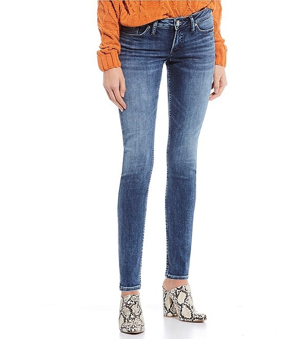 Color:Indigo - Image 1 - Tuesday Skinny Jeans