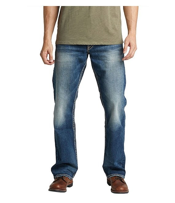 Color:Indigo - Image 1 - Zac Comfort Stretch Relaxed Fit Jeans