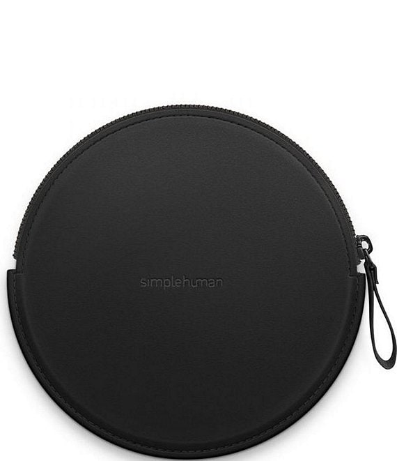 Color:Black - Image 1 - sensor mirror compact zip case
