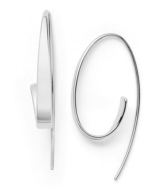 Skagen Kariana Curl Hoop Earrings