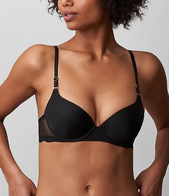 Color:Black - Image 1 - Beloved T-shirt Bra