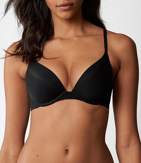Color:Black - Image 1 - Breathless Push-Up Bra