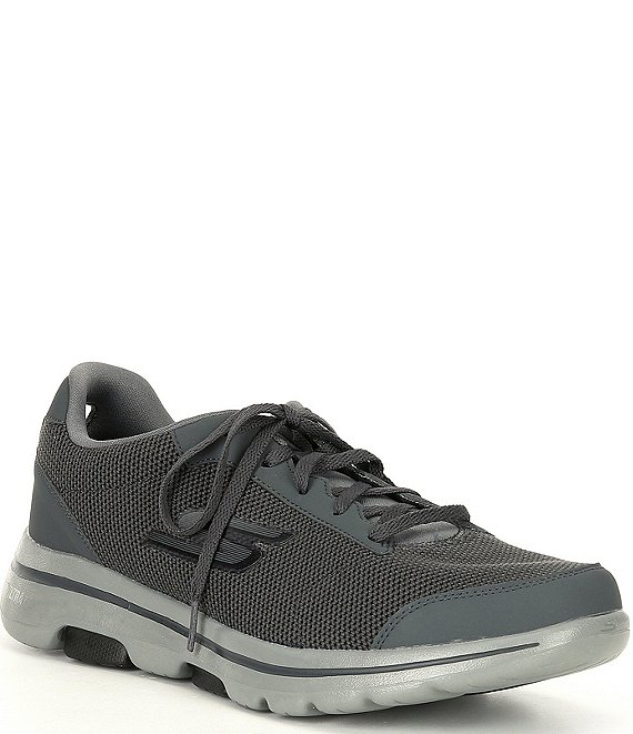 Color:Charcoal/Black - Image 1 - Men's GOwalk 5 Sneakers