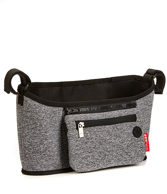 Color:Heather Grey - Image 1 - Grab and Go Stroller Organizer