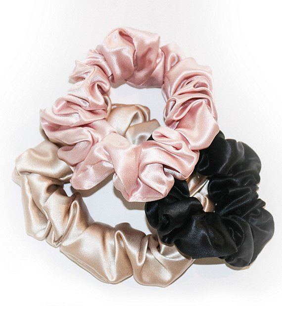 Color:Multi 3PK - Image 1 - Slip Silk™ Slip Color Scrunchies