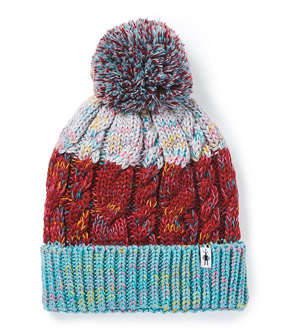 Color:Masala - Image 1 - Women's Colorblock Itso Retro Beanie