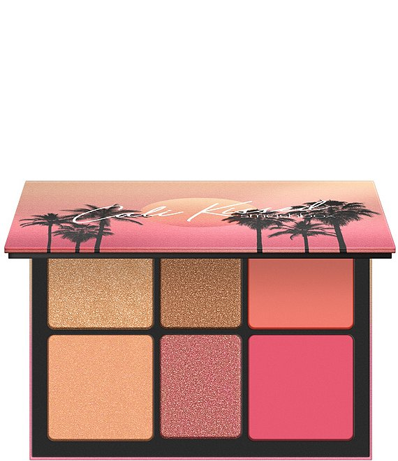 Color:Cali-Kissed - Image 1 - Cali Kissed Highlight + Blush Palette