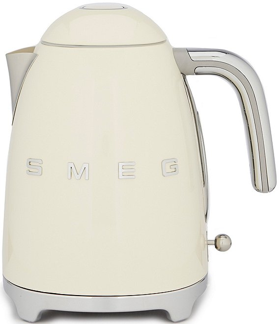 Color:Cream - Image 1 - SMEG 50's Retro 7-cup Electric Kettle