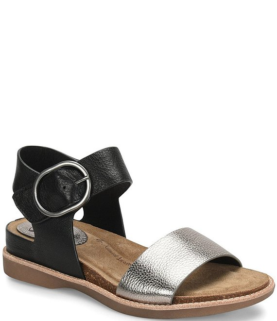 d7d4bdbe5da Sofft Bali Metallic Leather Sandals