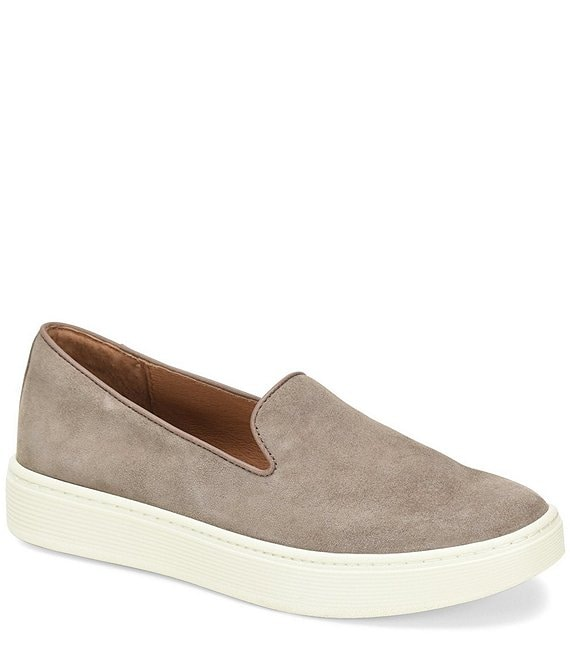Sofft Somers Suede Slip On Sneakers