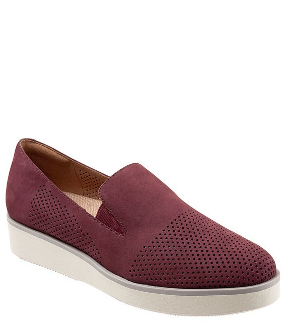 SoftWalk Whistle Nubuck Slip-On Sneakers