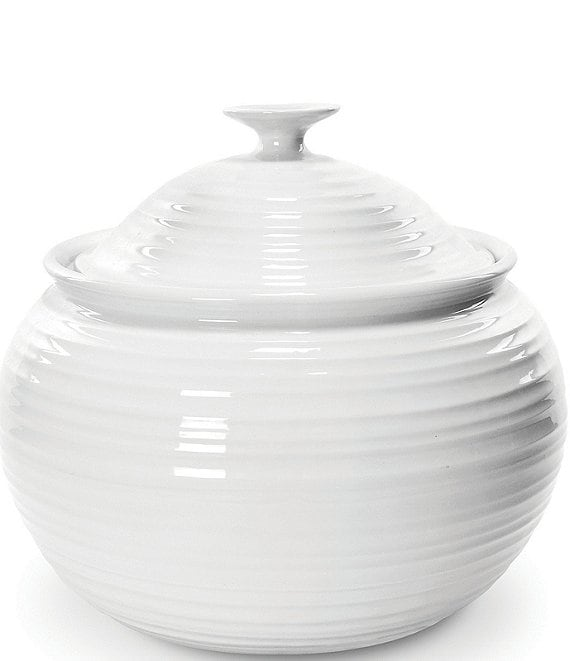 Color:White - Image 1 - Porcelain Covered Casserole