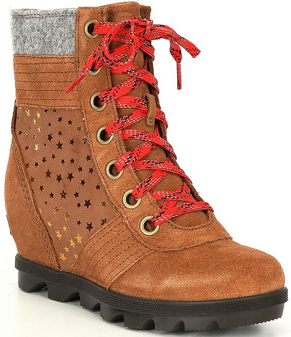 Sorel Girls' Lexie Wedge Boots (Youth