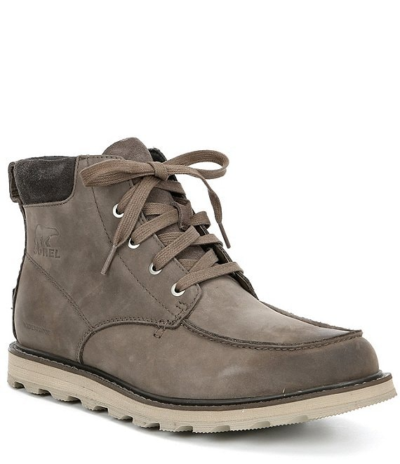 410bd61b443 SOREL Men's Madson Moc Toe Waterproof Boots