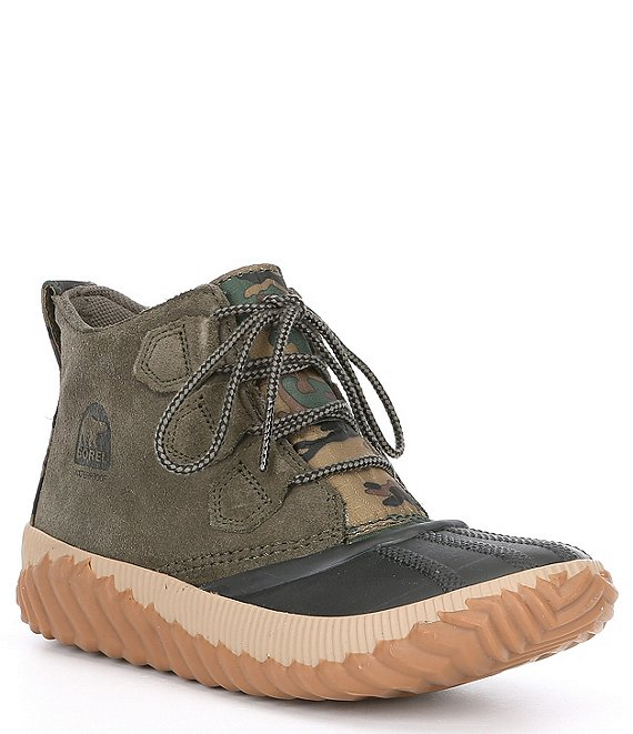 Color:Alpine Tundra - Image 1 - Out N About Plus Camo Print Waterproof Bootie