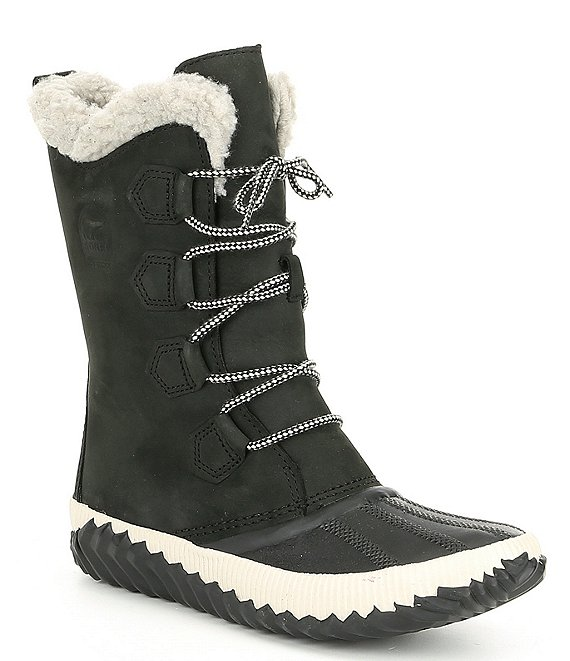 Color:Black - Image 1 - Out N About Tall Plus Faux Fur Lining Waterproof Winter Boots