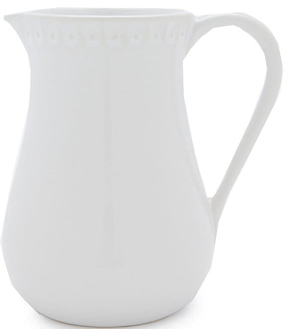 Southern Living Alexa White Pitcher