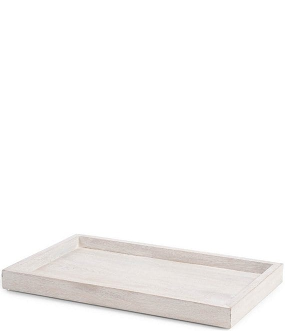 Color:White - Image 1 - Alston Wood Tray