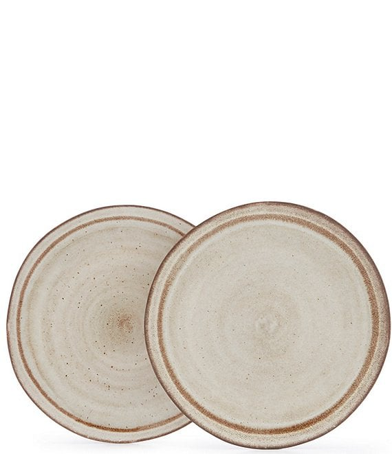 Southern Living Astra Glazed Dinner Plates, Set of 2