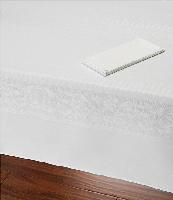 Southern Living Cotton Jacquard Table Linens