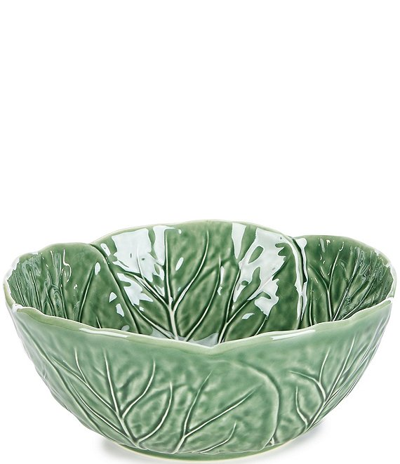 Color:Green - Image 1 - Easter Collection Cabbage Salad Bowl