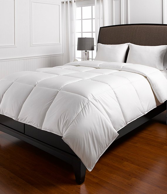 Color:White - Image 1 - Lightweight Warmth Down Comforter Duvet Insert