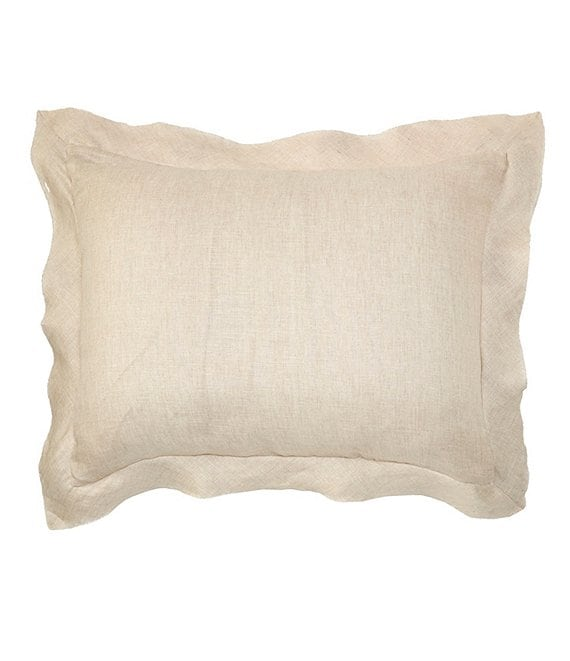 Color:Natural - Image 1 - Simplicity Aiden Linen Sham