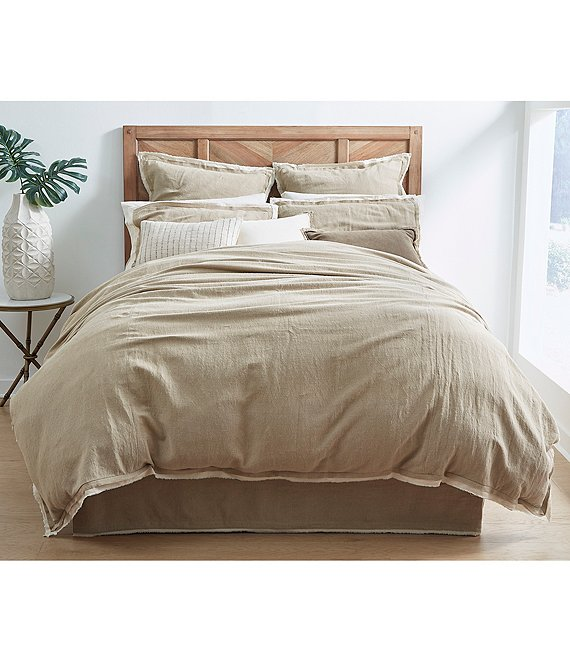 Southern Living Simplicity Collection Blake Cotton & Linen Duvet
