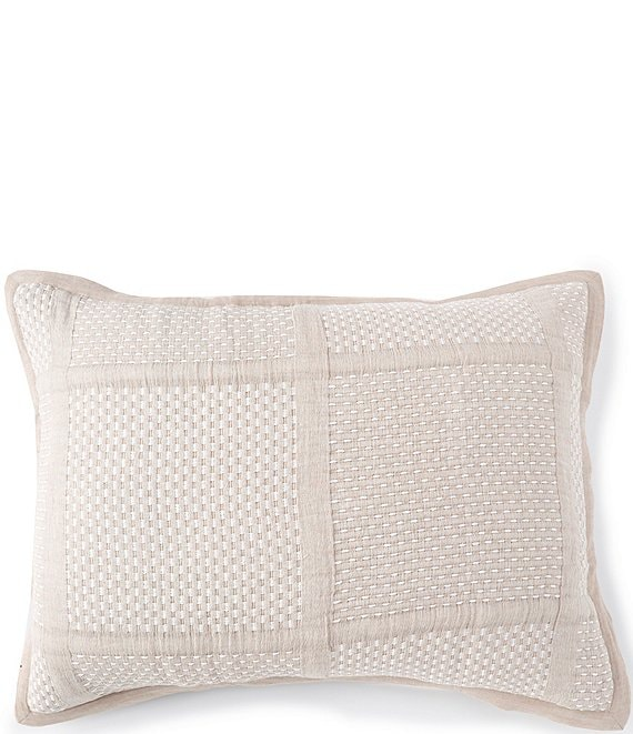 Color:Taupe - Image 1 - Simplicity Collection Mason Sham