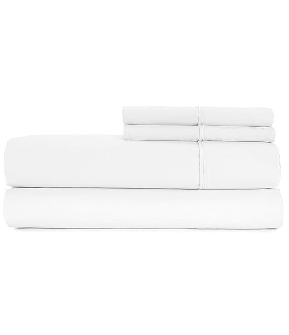 Color:Bright White - Image 1 - Supreme Soft 700-Thread-Count Sateen Sheets