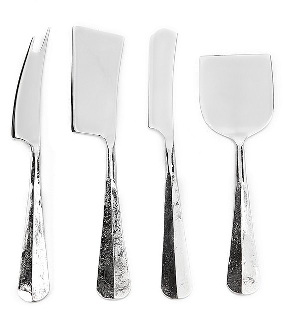Southern Living Textured Silver Cheese Tools