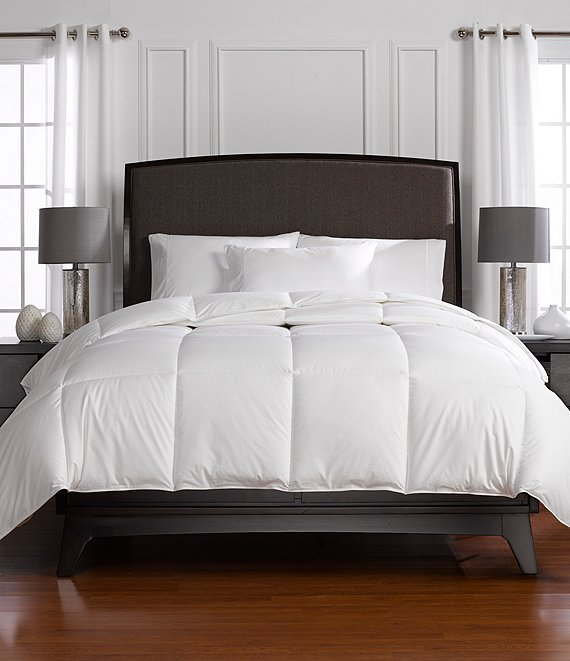 Color:White - Image 1 - Year-Round-Warmth Down Comforter Duvet Insert
