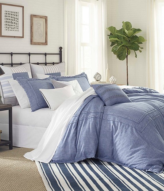 Color:Blue - Image 1 - Bayview Mini Comforter Set
