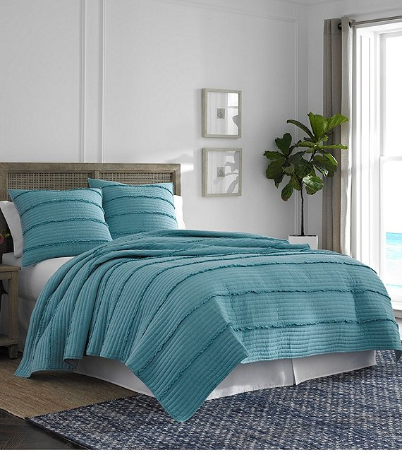 Southern Tide Dory Lane Teal Quilt