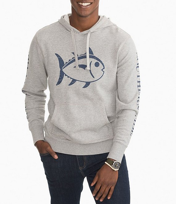 Southern Tide Skipkack Upper Deck Heather Long-Sleeve Hoodie