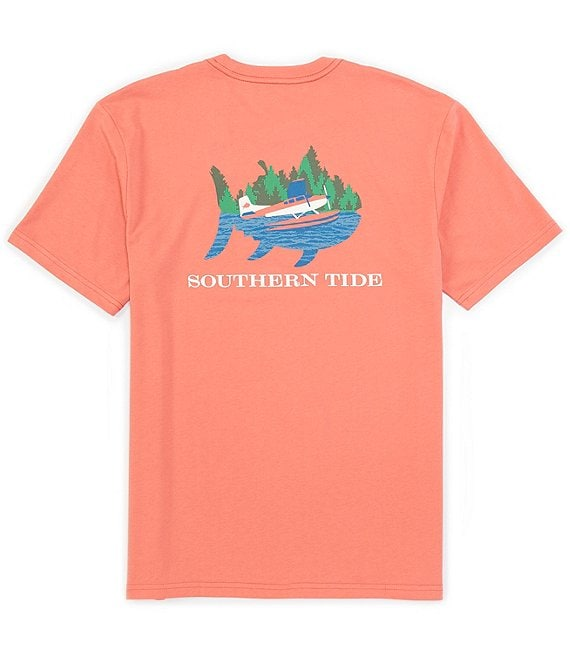 Color:Spiced Coral - Image 1 - Water Take Off Heather Short-Sleeve Tee