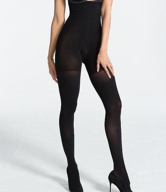 d8dd3c11e83e5 Spanx Opaque High-Waisted Luxe Leg Control Top Tights | Dillard's