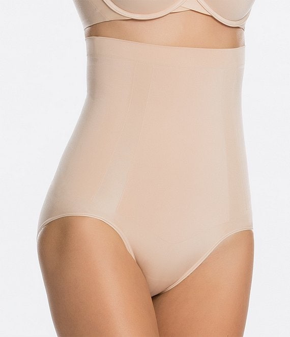 Color:Soft Nude - Image 1 - OnCore High-Waisted Shapewear Brief