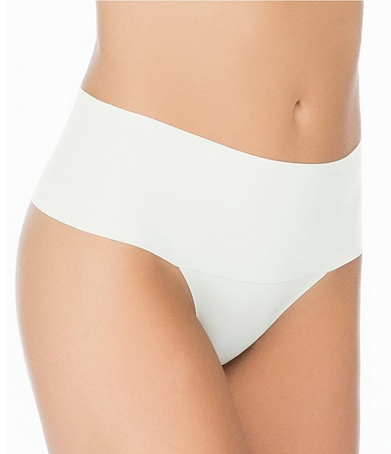 Color:Powder - Image 1 - Undie-Tectable Thong Panty